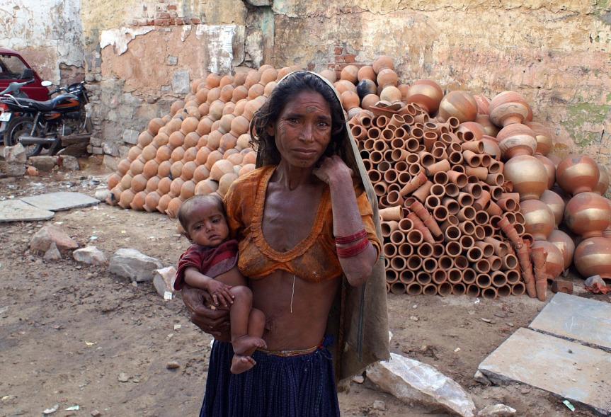 pauvreté en inde
