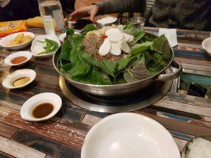 Le restaurant Taejo Gamjaguk à Seoul
