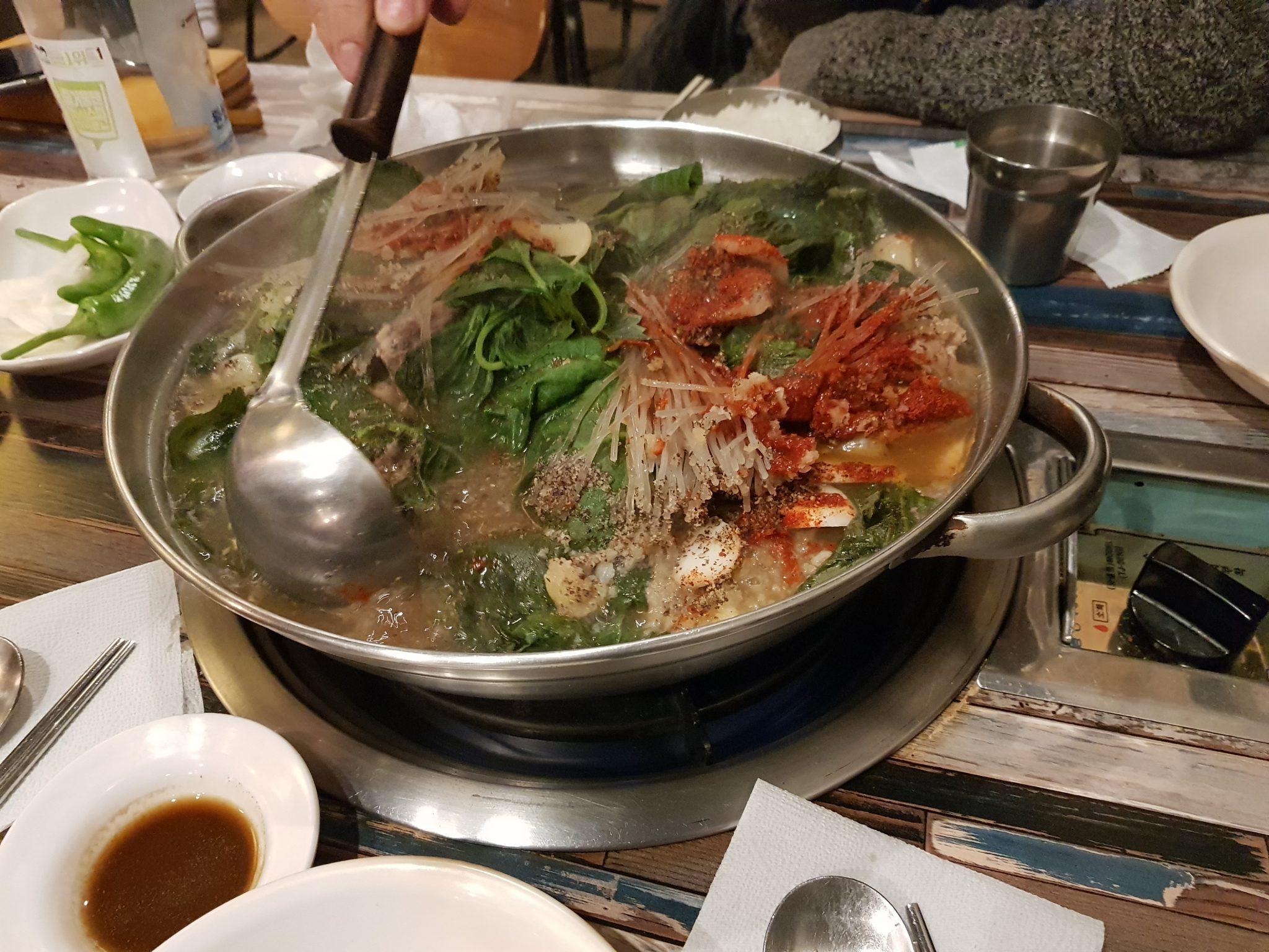 Restaurant Taejo Gamjaguk