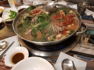 Le restaurant coréen Taejo Gamjaguk