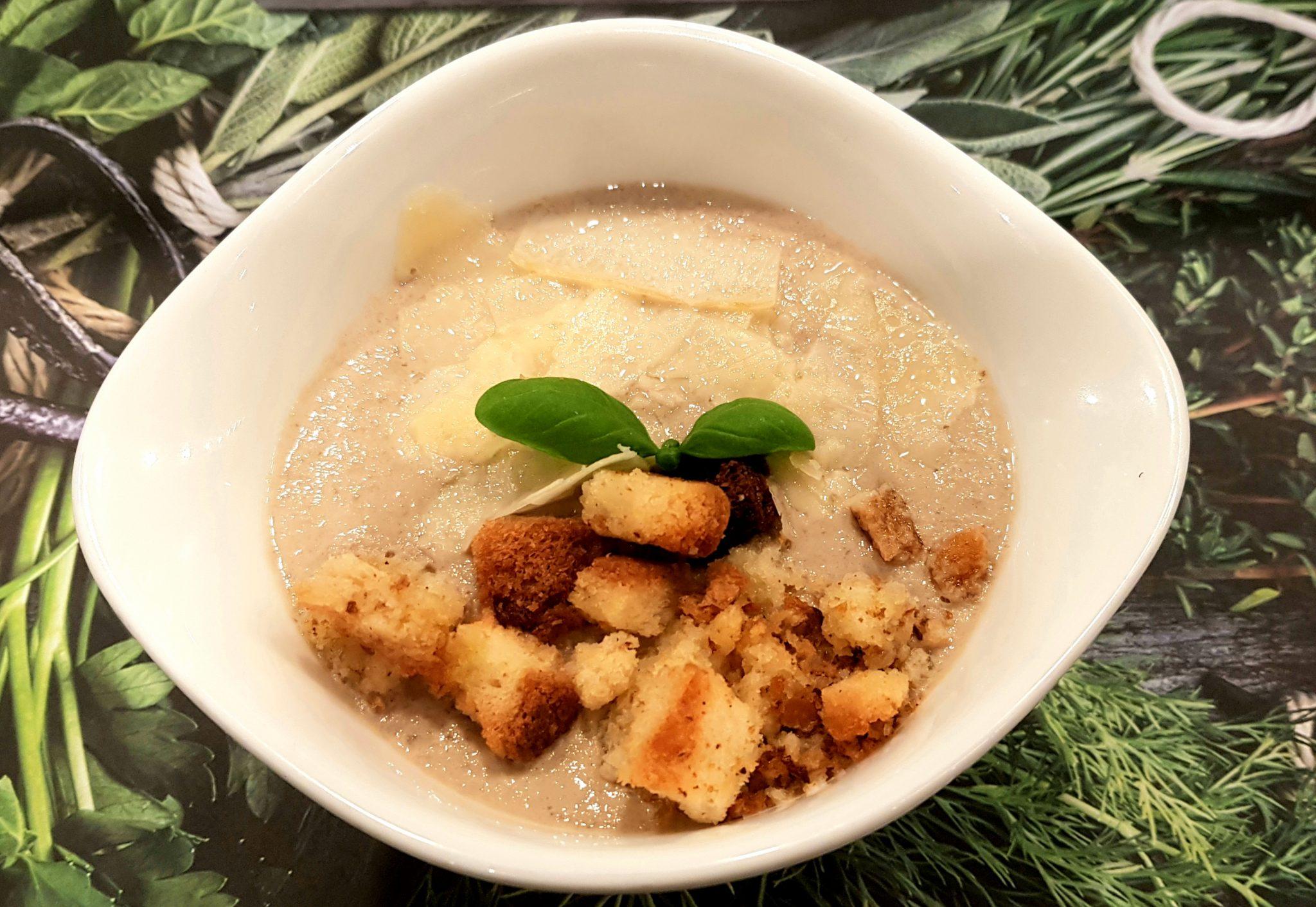 Restaurant Vapiano Paris soupe