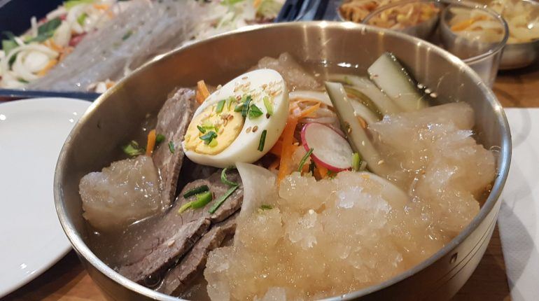 restaurant coréen à Paris Naengmyeon