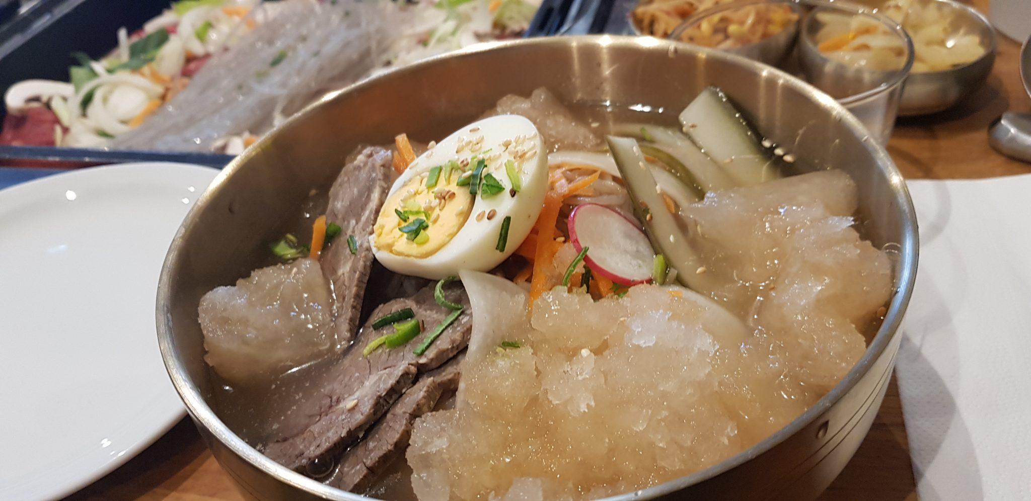 restaurant coréen à Paris Naengmyeon
