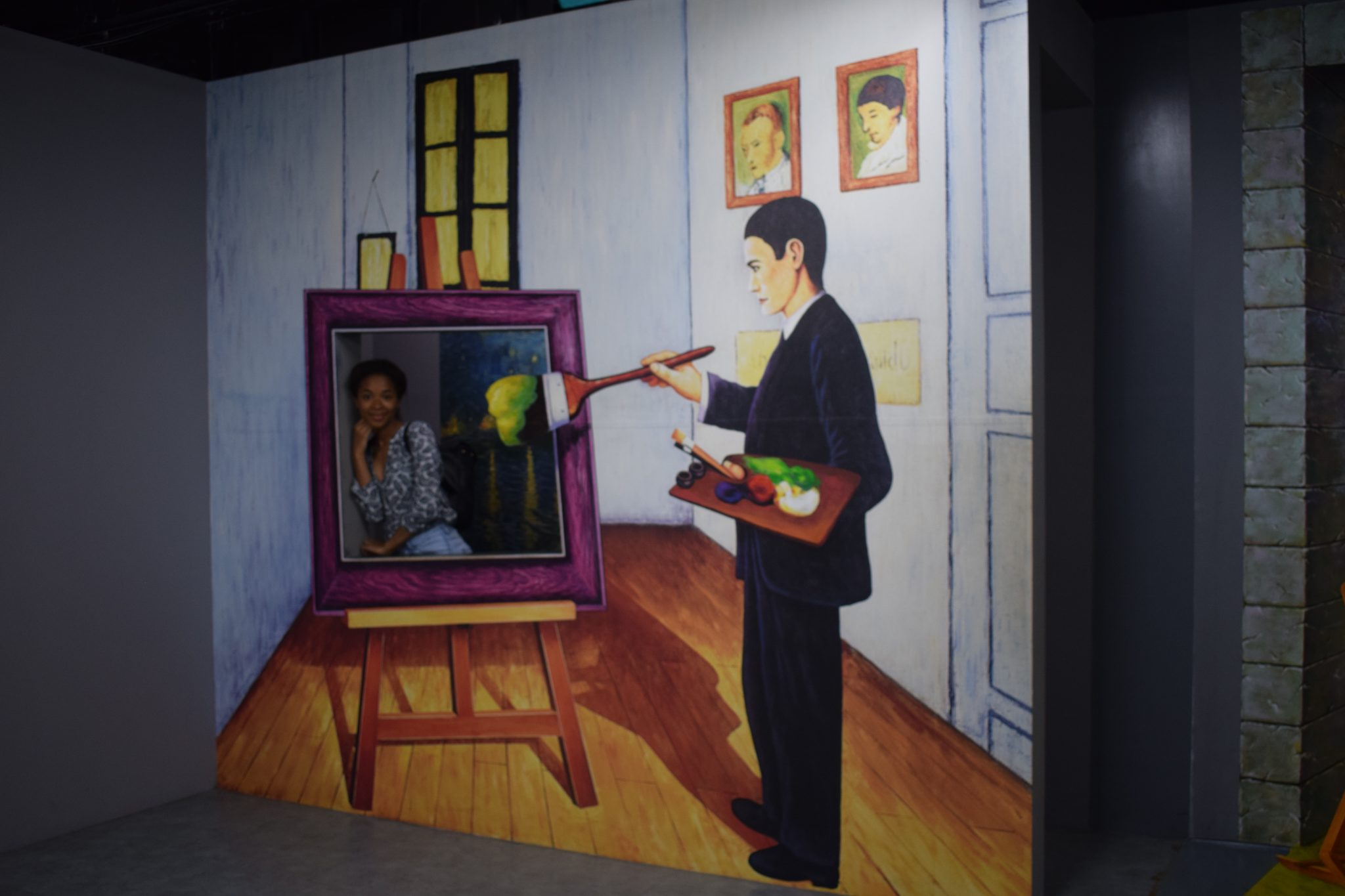 Le musée de l'illusion à Busan
